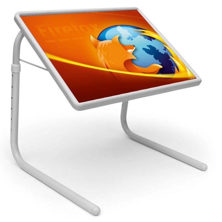 Buy Table Mate Designer Portable Adjustable Dinner Cum Laptop Tray Table (051) online