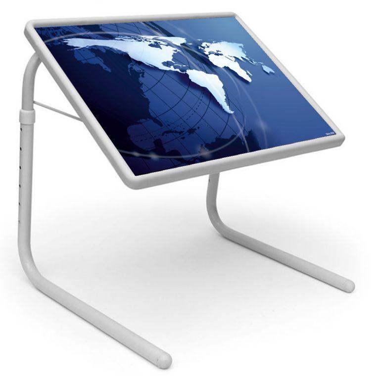 Buy Table Mate Designer Portable Adjustable Dinner Cum Laptop Tray Table (054) online