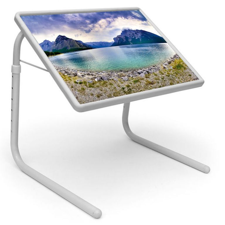 Buy Table Mate Designer Portable Adjustable Dinner Cum Laptop Tray Table online
