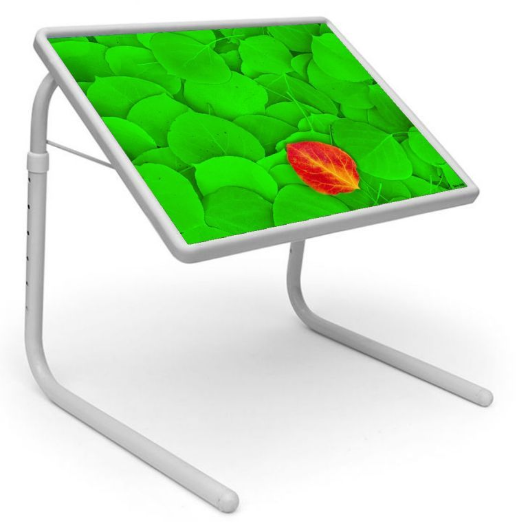 Buy Table Mate Designer Portable Adjustable Dinner Cum Laptop Tray Table (068) online