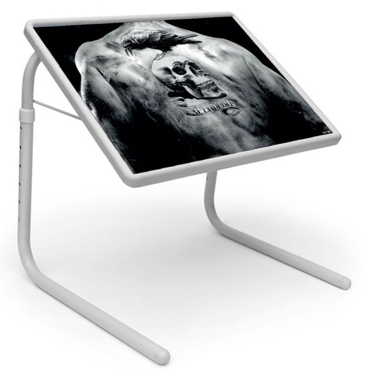 Buy Table Mate Designer Portable Adjustable Dinner Cum Laptop Tray Table (108) online