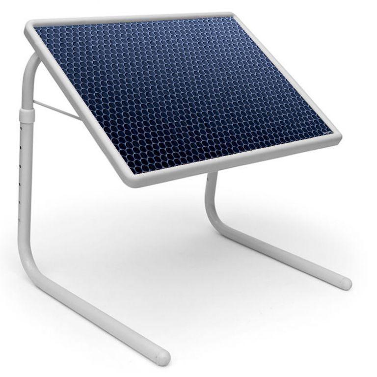 Buy Table Mate Designer Portable Adjustable Dinner Cum Laptop Tray Table (170) online