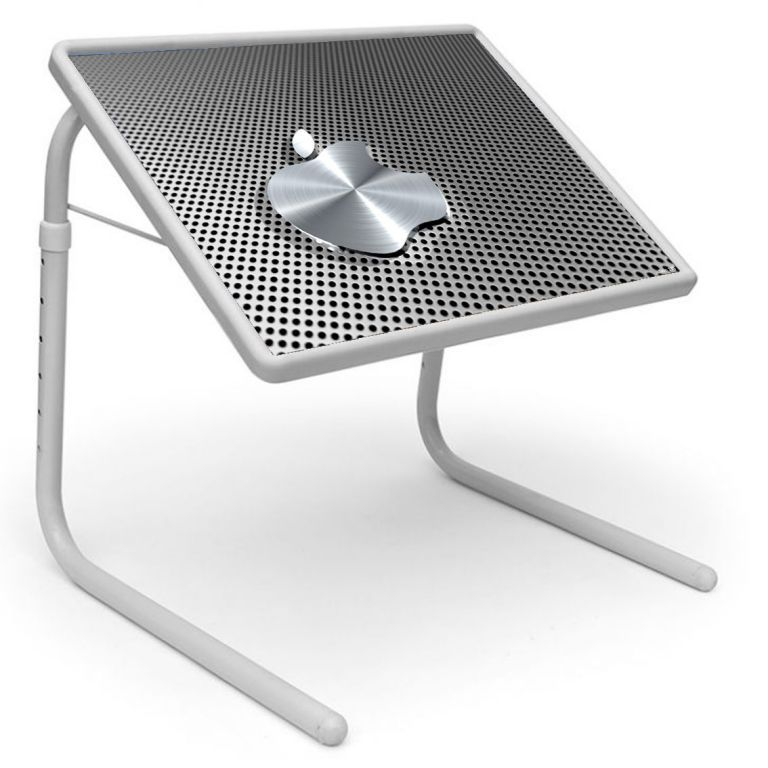Buy Table Mate Designer Portable Adjustable Dinner Cum Laptop Tray Table (175) online