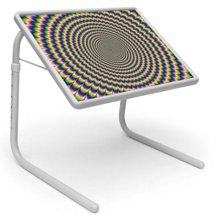 Buy Table Mate Designer Portable Adjustable Dinner Cum Laptop Tray Table (176) online