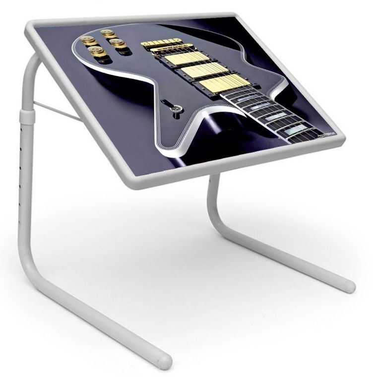 Buy Table Mate Designer Portable Adjustable Dinner Cum Laptop Tray Table (221) online