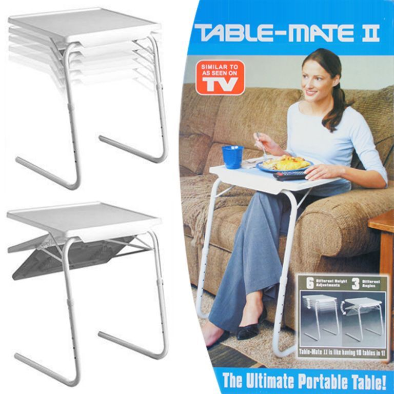 Buy Table Mate Portable Adjustable Dinner Cum Laptop Tray online
