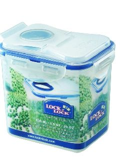Buy Lock&Lock Classics Tall Rectangular Food Container With Flip Lid online