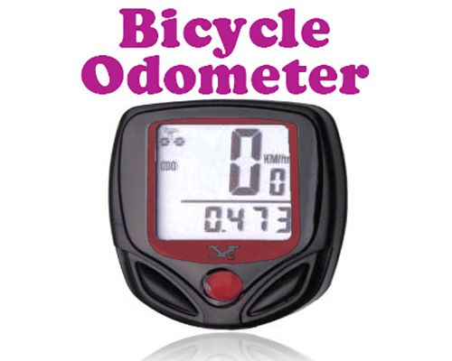 Buy Gadget Hero's LCD Waterproof Cycling Bicycle Odometer With 16 Function online