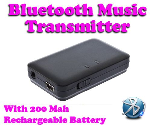 Buy Gadget Hero's Bluetooth 3.5mm Audio Music Transmitter Adapter A2DP online