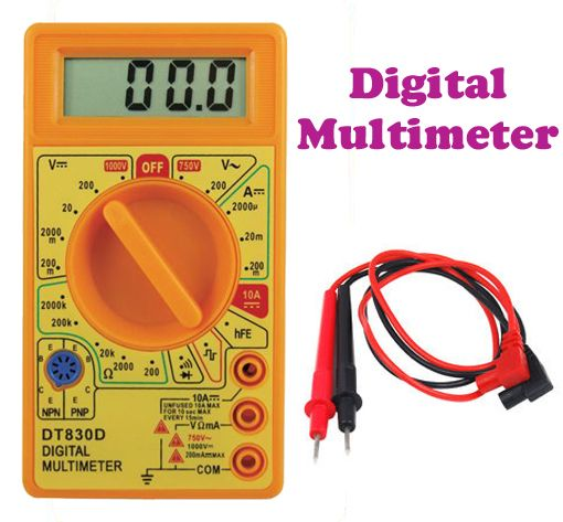 Buy Gadget Hero's Digital Multimeter For Continuity Current & Voltage Measure online