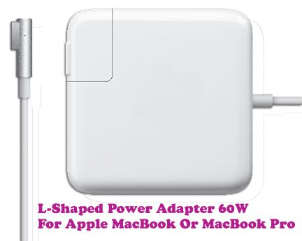 Buy Gadget Hero's L Tip 60w 3.65a Power Adapter Supply Charger Apple Macbook online
