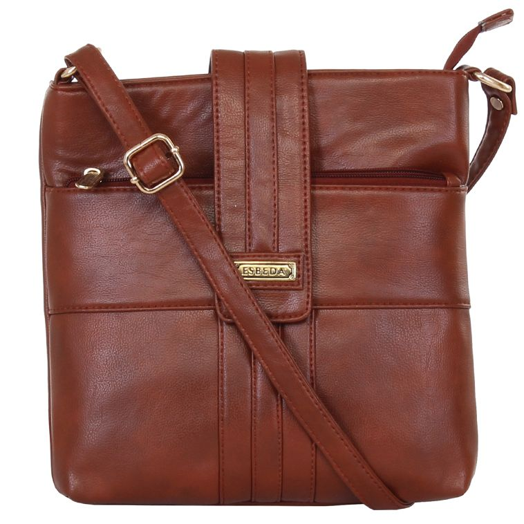 Buy Esbeda Ladies Sling Bag Brown Color (msa01_1371) Online | Best ...