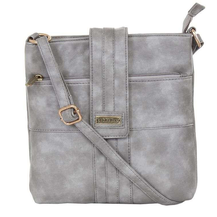 Buy Esbeda Ladies Sling Bag Grey Color (msa01_1372) online