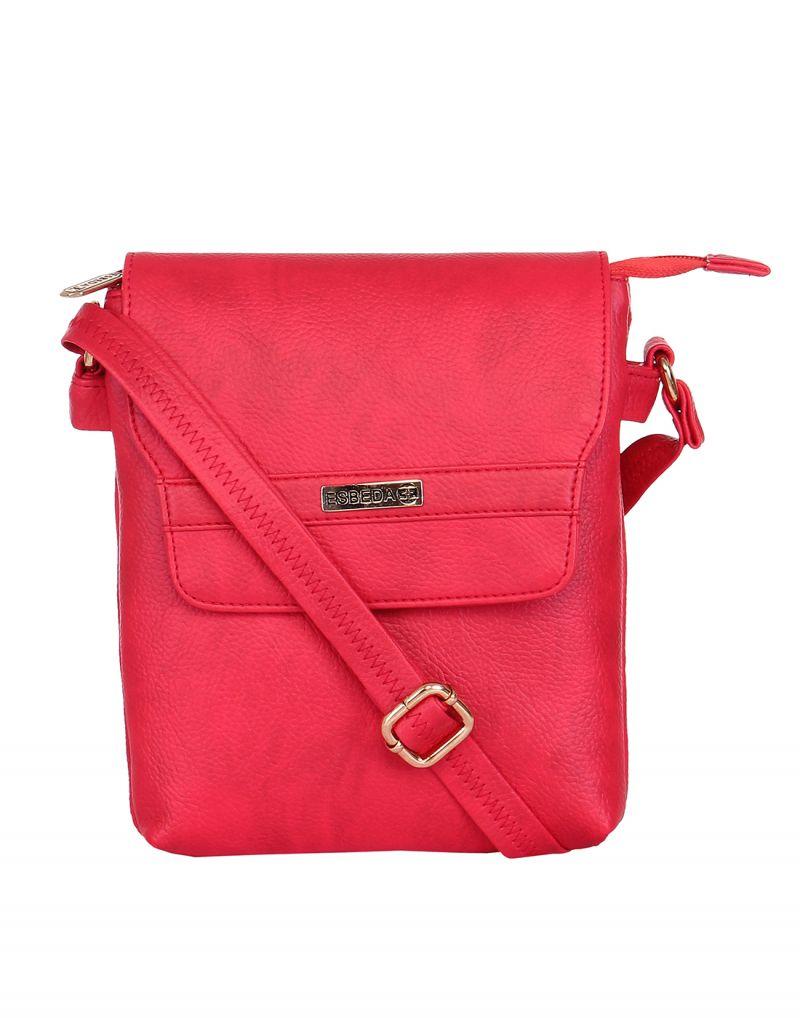 Buy Esbeda Ladies Sling Bag Red Color (ma230716_1446) Online ...
