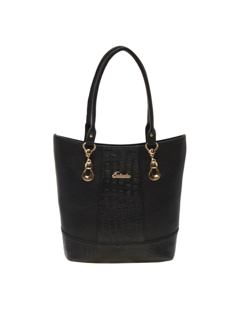 Buy Esbeda Black Solid Pu Synthetic Material Handbag For Women-1980 (code - 1980) online