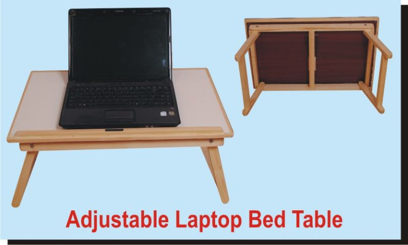 Buy Roger & Moris Wooden Laptop Table, Bed Table, E Table, Foldable online