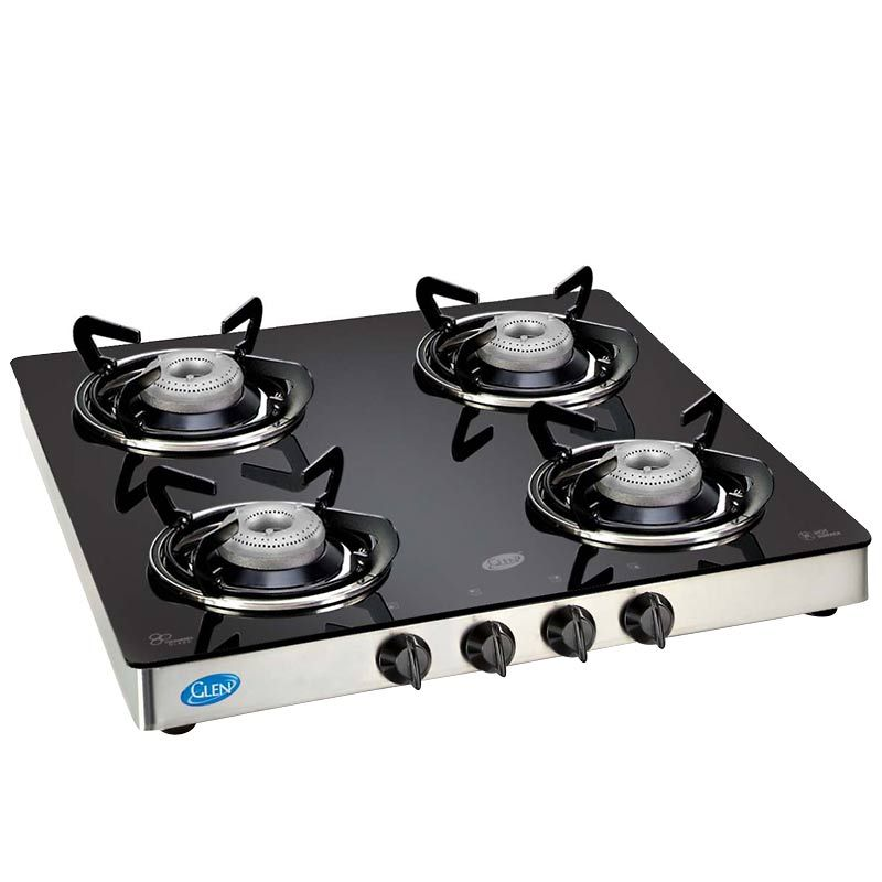 4 Burner Stove Top Dimensions 4 Burner Glass Top Cooktop