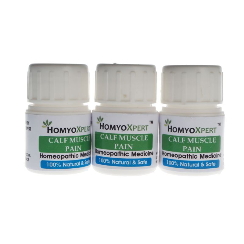 Buy Homyoxpert Calf Muscle Pain Homeopathic Medicine For One Month online