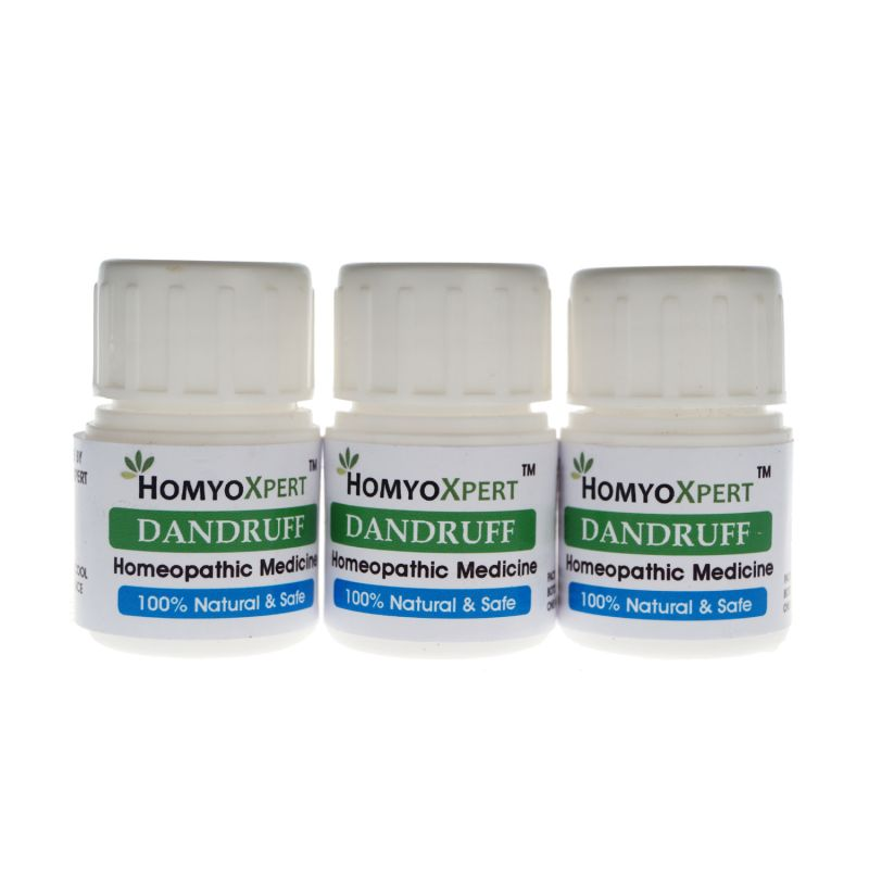 Buy Homyoxpert Dandruff Homeopathic Medicine For One Month online