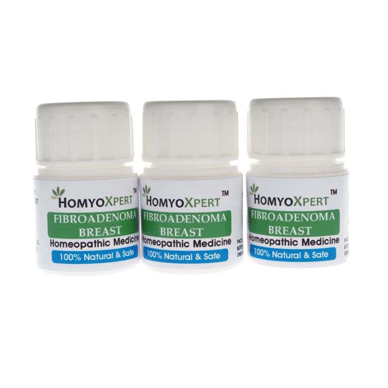 Buy Homyoxpert Fibroadenoma Breast Homeopathic Medicine For One Month online