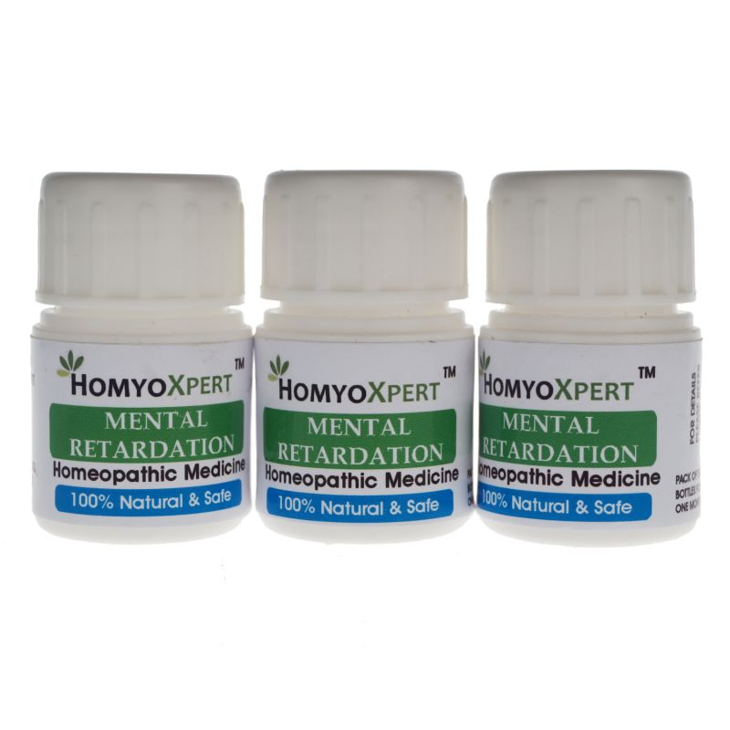 Buy Homyoxpert Mental Retardation Homeopathic Medicine For One Month online