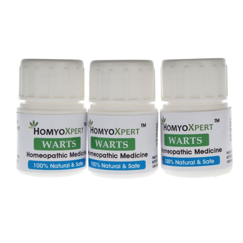 Buy Homyoxpert Warts Homeopathic Medicine For One Month online