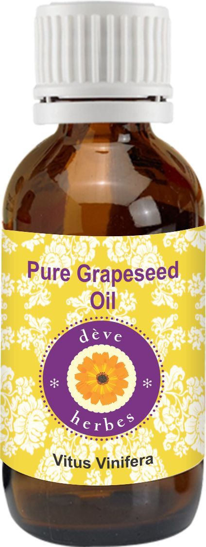 Buy Pure Grapeseed Oil 50ml (vitus Vinifera) 100% Natural Cold Pressed online