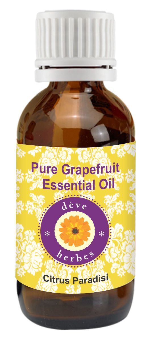 Buy Pure Grapefruit Essential Oil 30ml (citrus Paradisi) Pure & Natural online