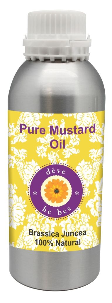Buy Puremustardoil 300ml (brassica Juncea) 100% Natural Cold Pressed online