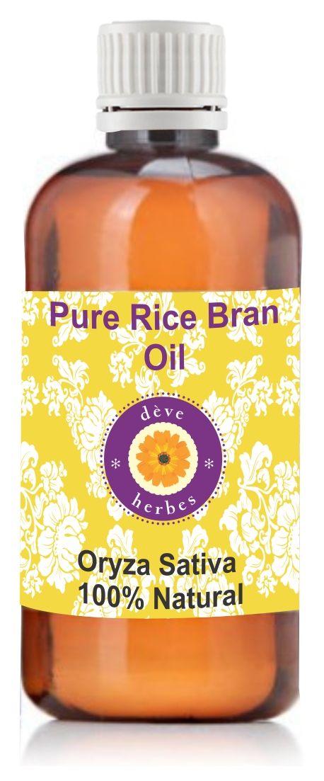 Buy Pure Rice Bran Oil 100ml (oryza Sativa) Natural & Cold Pressed online