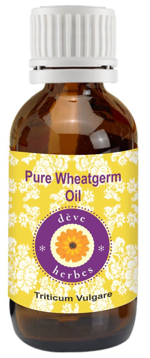 Buy Pure Wheatgerm Oil 50ml (triticum Vulgare) 100% Natural Cold Pressed online