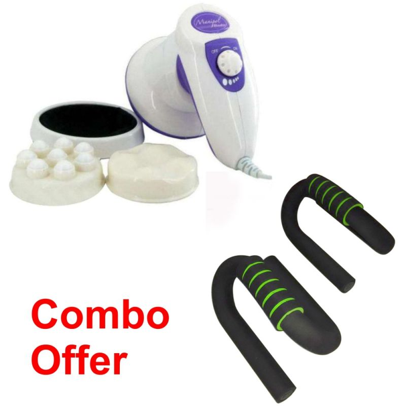 Buy Deemark Combo Of Manipol With Pushup Bar online