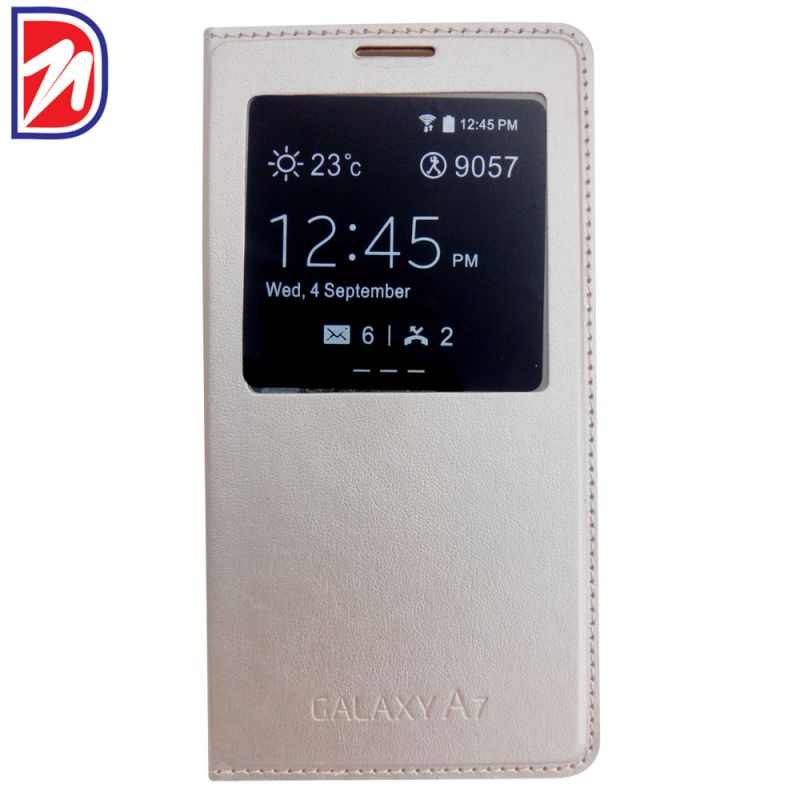 Buy Deemark Samsung Flip Cover For Samsung Galaxy A7 -white online
