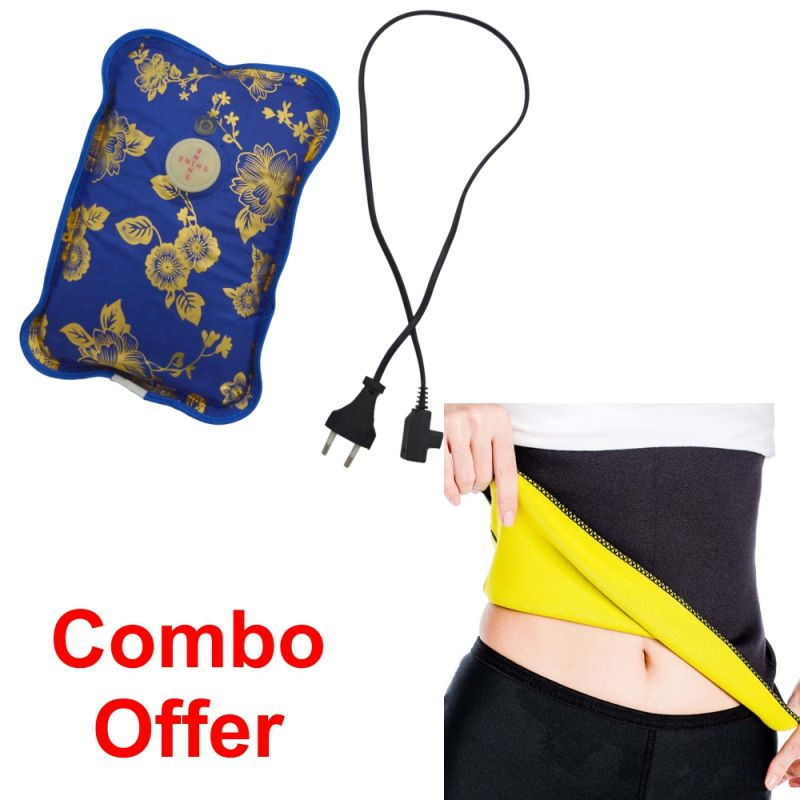 Buy Deemark Combo Of Warm Bag With Hot Shepar-l online