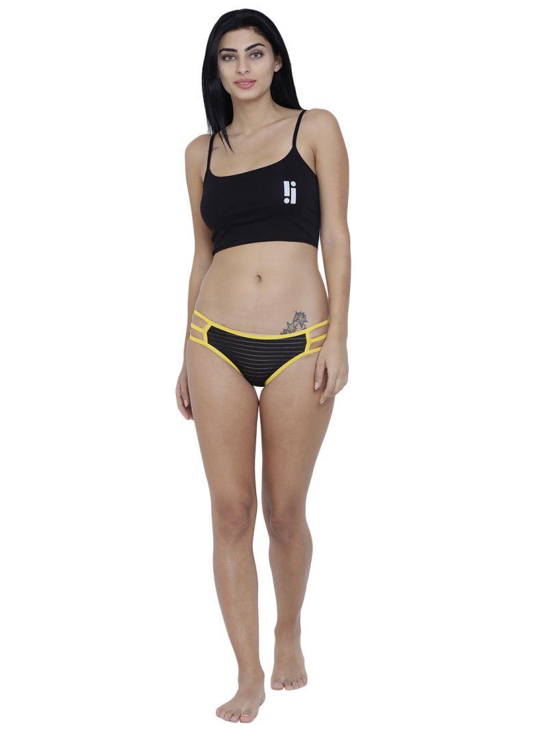 2a4ddb9c6 Buy Black Basiics By La Intimo Womens Linda Sexy Bikini Panty Online ...