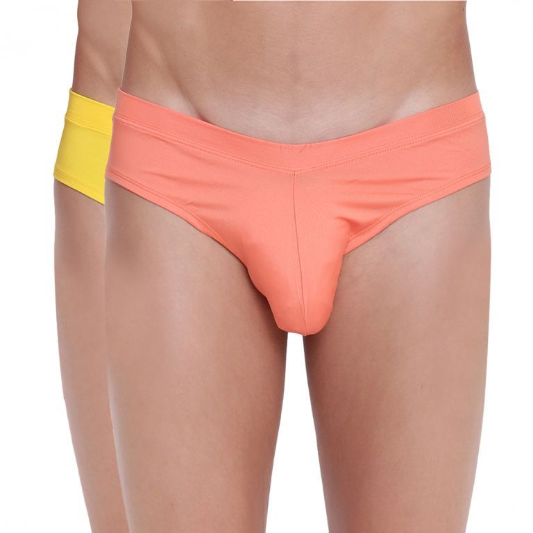 Buy Fanboy Style Brief Basiics by La Intimo (Pack of 2 ) online