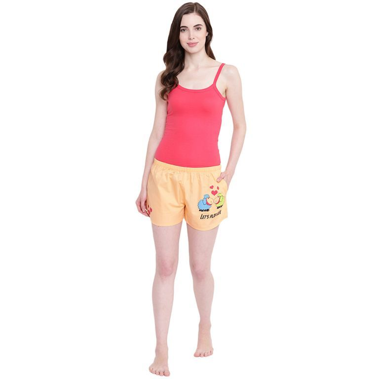 Buy La Intimo Sheep Play Safe Peach shorts online
