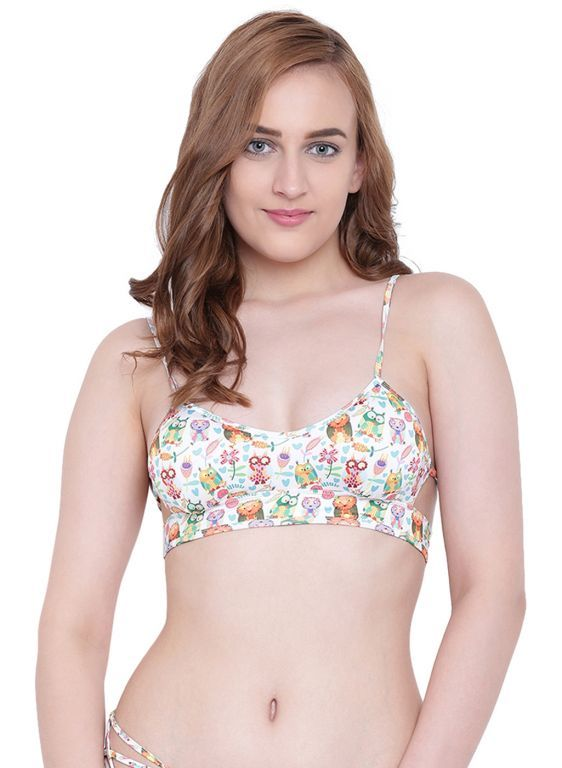Buy Multi (Digital Prints )a Intimo Lakeside Bikini Bra online