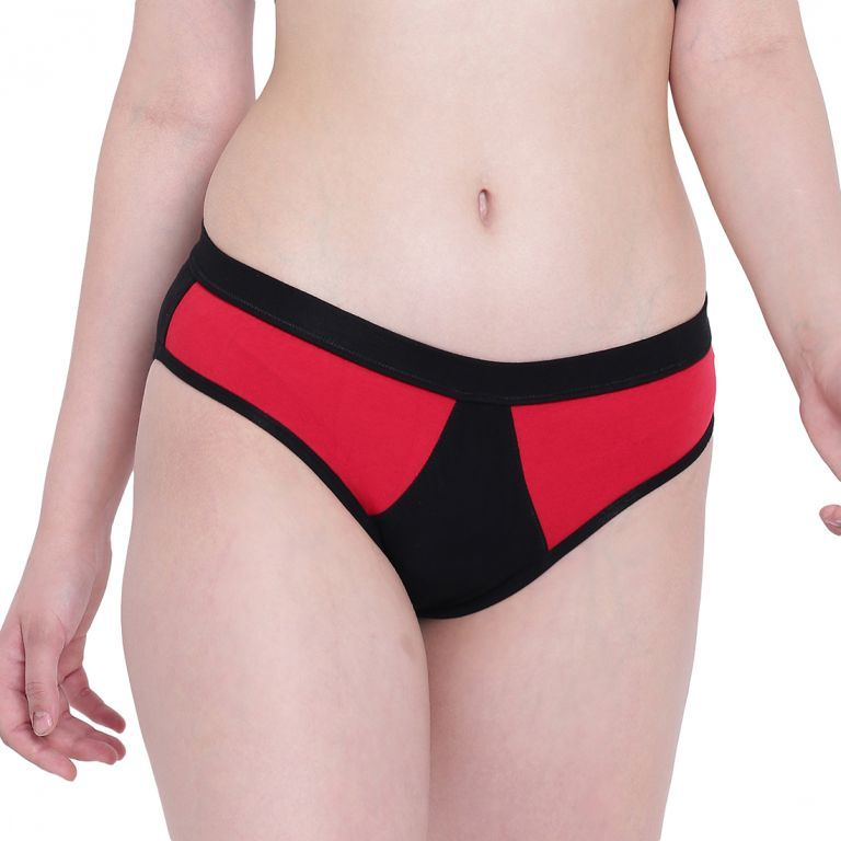 Buy La Intimo Black Mermaid Red Panty online