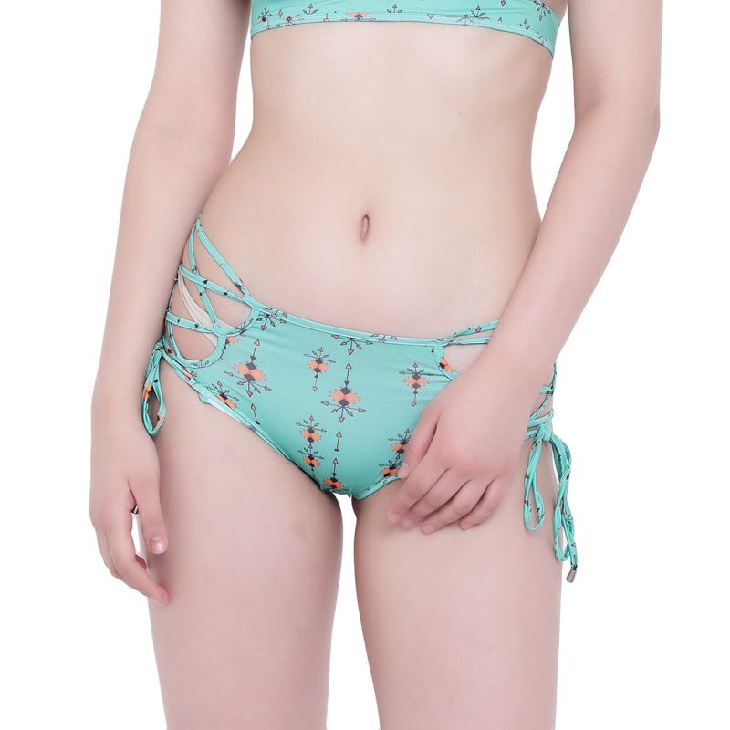 Buy Multi (Digital Prints) La Intimo Lakeside Panty Resort/Beach Wear online