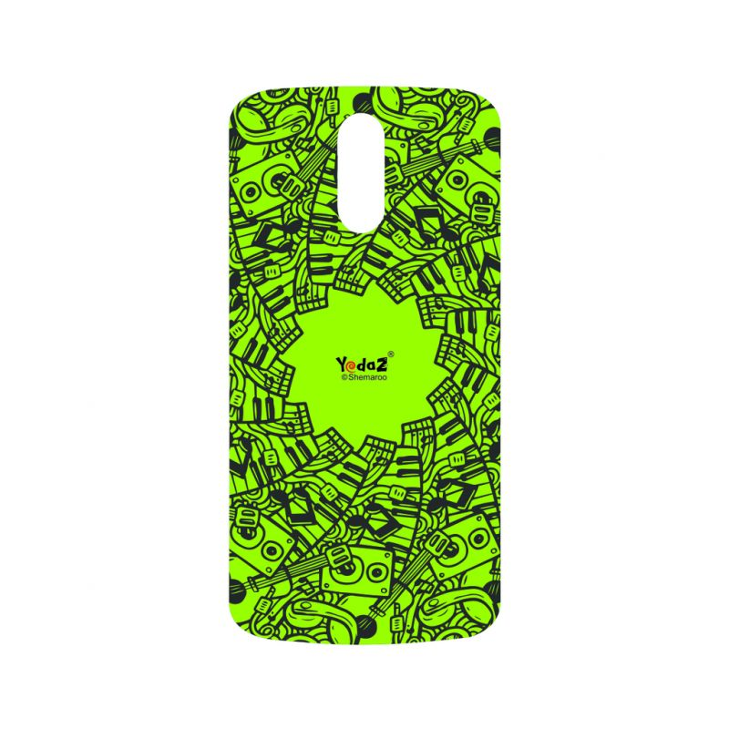 Buy Yedaz Mobile Back Cover For MOTO G4 Plus online