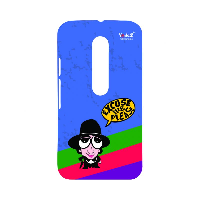 Buy Yedaz Mobile Back Cover For MOTO G3 online