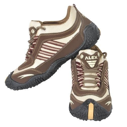 Buy Alex Brown & Cream Sports/running/gym Shoe For Men's. online