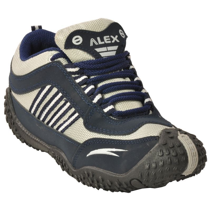 Buy Alex Blue Grey Sports/running/gym/sneakers/casual Shoe For Men online