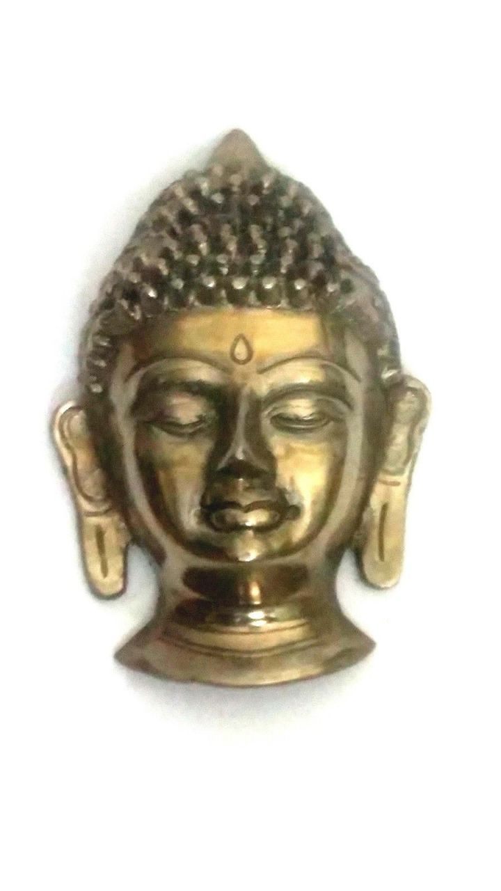 Buy Lord Buddha Face Wall Hanging Home Decor Buddhism Metal Art online