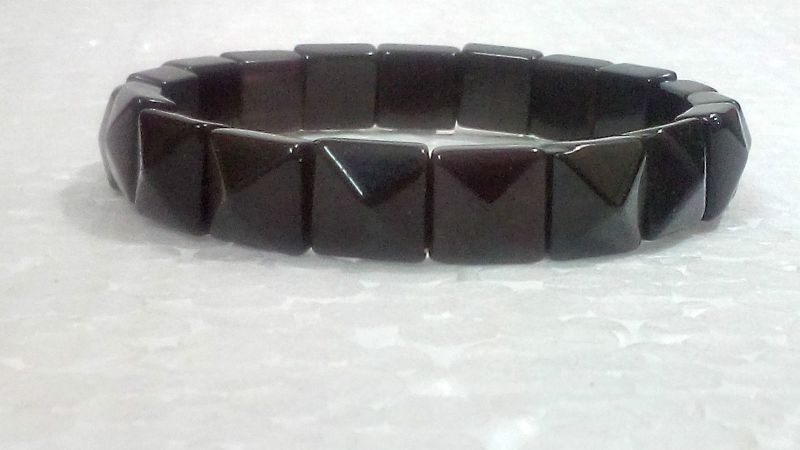 Buy Black Onyx Pyramid Shaped Bracelets (crystal Healing) online