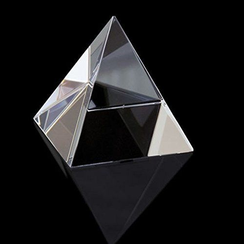 Buy Crystal Glass Pyramid For Positive Energy ( 38 MM ) online