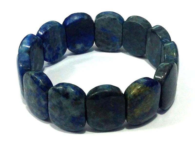 Buy Lapis Lazuli Stretch Bracelet ( 15 MM ) online