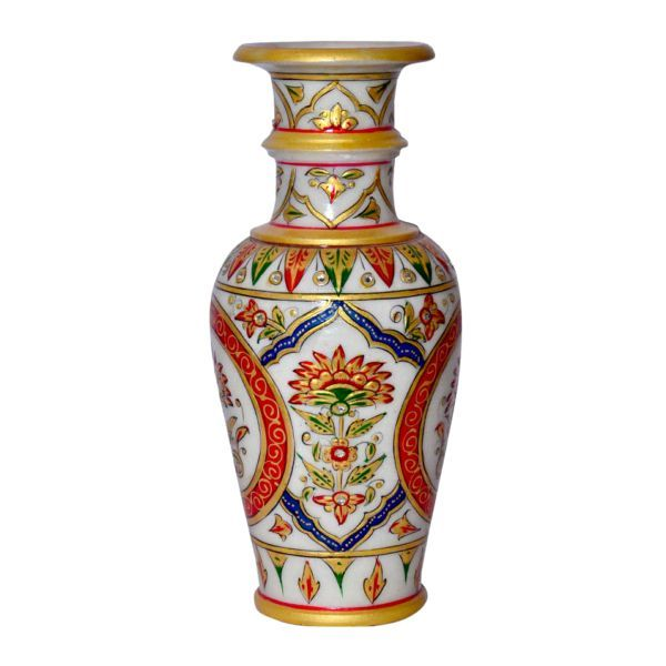 Buy Marble Flower Vase 5 from Rajasthan online