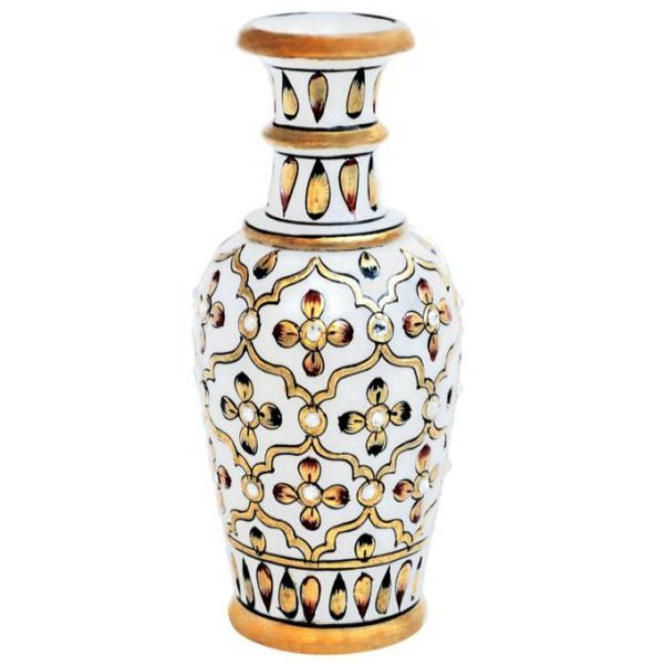 Buy Marble Flower Vase 8 from Rajasthan online